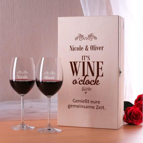 Persönliche Weingläser